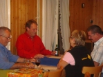 Jassturnier und Herbstwanderung 2008